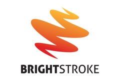 Logotipo brilhante do curso Fotografia de Stock