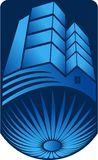Logotipo brillante del edificio libre illustration