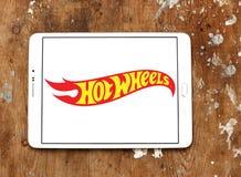 Logotipo caliente de la marca del juguete de las ruedas fotos de archivo