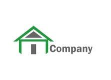 Logotipo casero de la casa Foto de archivo libre de regalías