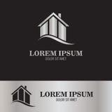 Logotipo casero de la propiedad Imágenes de archivo libres de regalías