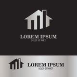 Logotipo casero de las finanzas Fotografía de archivo libre de regalías