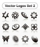 Logotipo collection2 Imagens de Stock