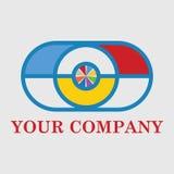 Logotipo colorido do phothograp da câmera Imagem de Stock