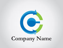 Logotipo corporativo Fotografia de Stock Royalty Free