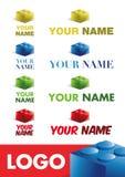 Logotipo corporativo moderno Fotos de Stock