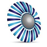 Logotipo creativo ilustração do vetor