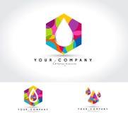 Logotipo creativo ilustração royalty free
