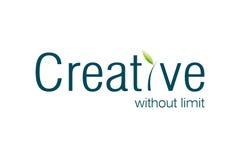 Logotipo creativo Imagem de Stock