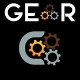 Logotipo creativo del engranaje del diseño libre illustration