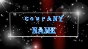 Logotipo, 3D ilustração, a melhor animação, fundo filme