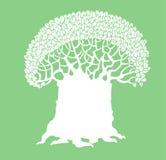 Logotipo da árvore Fotografia de Stock Royalty Free