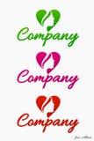 Logotipo da abstração (forma) Imagens de Stock