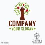 Logotipo da abstração (eco) Imagem de Stock Royalty Free