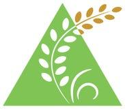 Logotipo da agricultura ilustração royalty free
