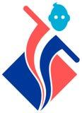 Logotipo da aptidão ilustração do vetor