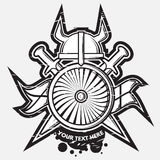 Logotipo da arma Fotografia de Stock Royalty Free