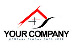 Logotipo da arquitetura Fotos de Stock Royalty Free