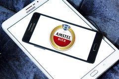 Logotipo da ataúde de Amstel Foto de Stock