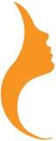 Logotipo da barra da beleza Imagens de Stock Royalty Free