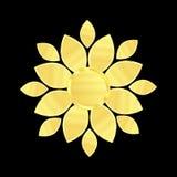 Logotipo da beleza da flor ilustração do vetor