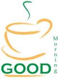 Logotipo da boa manhã Fotografia de Stock