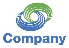 Logotipo da bobina Foto de Stock Royalty Free