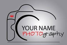 Logotipo da câmera Fotos de Stock