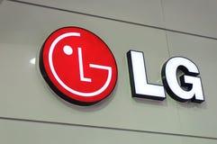 Logotipo da cabine do Lg Imagens de Stock Royalty Free