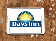Logotipo da cadeia hoteleira do Days Inn foto de stock