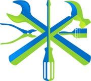 Logotipo da caixa de ferramentas ilustração do vetor