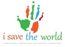 Logotipo da caridade Imagem de Stock