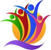 Logotipo da caridade ilustração royalty free