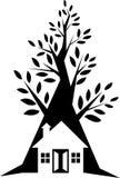 Logotipo da casa Imagens de Stock