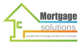 Logotipo da casa ilustração stock