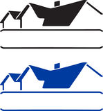 Logotipo da casa Fotografia de Stock
