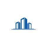 Logotipo da cidade da construção civil Imagem de Stock Royalty Free