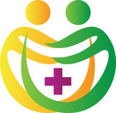 Logotipo da clínica Imagens de Stock