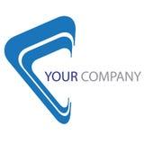 Logotipo da companhia Foto de Stock Royalty Free