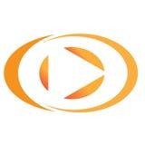 Logotipo da companhia Foto de Stock