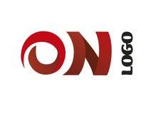 Logotipo da companhia Imagens de Stock