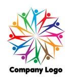Logotipo da companhia ilustração stock