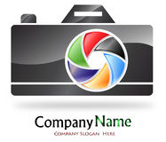 Logotipo da companhia da fotografia Foto de Stock