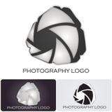 Logotipo da companhia da fotografia Imagens de Stock Royalty Free