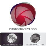 Logotipo da companhia da fotografia Fotos de Stock