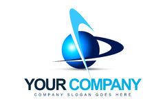 Logotipo da companhia de negócio Imagens de Stock Royalty Free