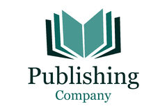 Logotipo da companhia de publicação Fotos de Stock