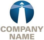 Logotipo da companhia do farol Imagem de Stock