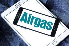 Logotipo da companhia do gás de Airgas Fotografia de Stock