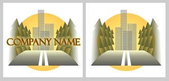 Logotipo da companhia do transporte Fotos de Stock